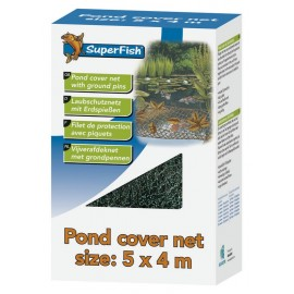 Filet de protection de bassin 4 m x 4 m