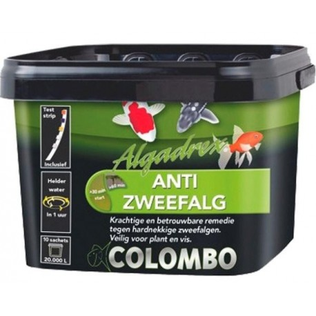 Anti algue et eau verte ALGADREX 300 ml de COLOMBO