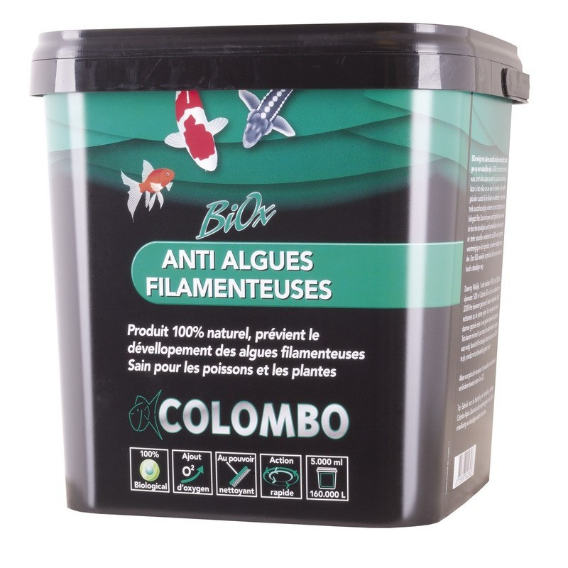 Anti algues filamenteuses BIOX de COLOMBO - Boutique Bassin