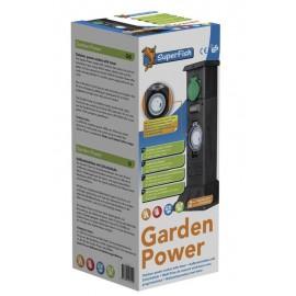 Electricit de jardin accessoires d 39 lectricit de bassin for Electricite exterieur jardin