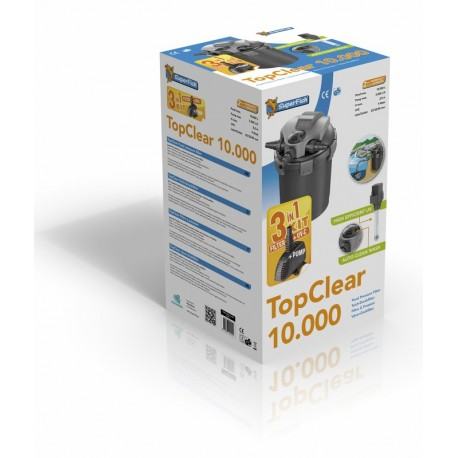 SuperFish TopClear Kit 10 000 ( 3 en 1 )