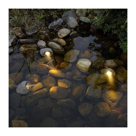 Spots de 3 rochers LAPIS GARDEN LIGHTS