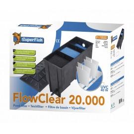 Kit de filtration complet pour bassin 20 m3 / 8 m3 avec Koï