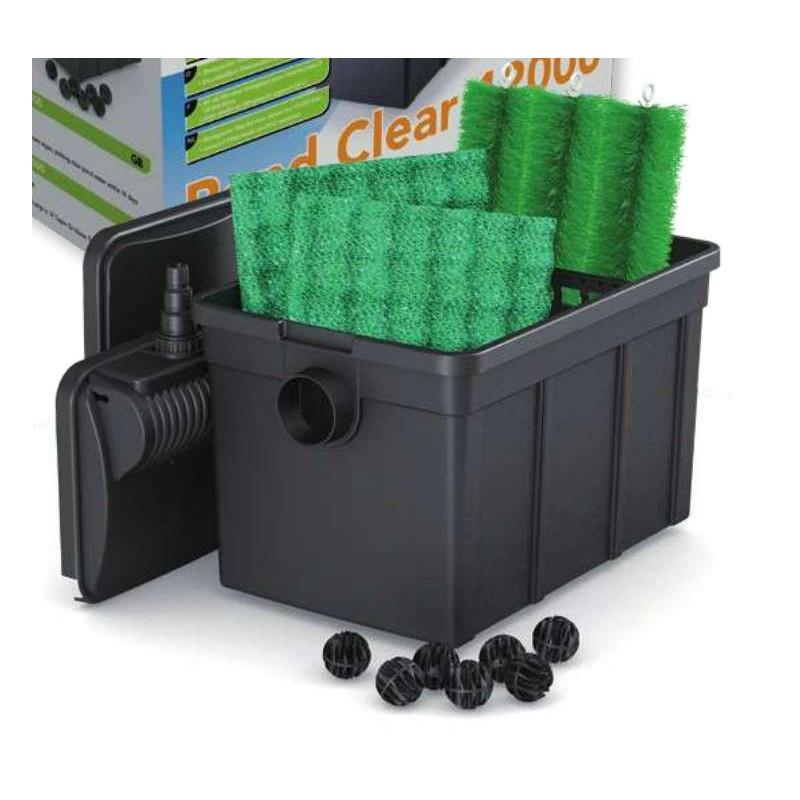 Kit de filtration pour bassin 12 m3 5 m3 avec ko for Pompe de filtration pour bassin exterieur