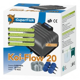 Kit aération SUPERFISH KOI FLOW 20
