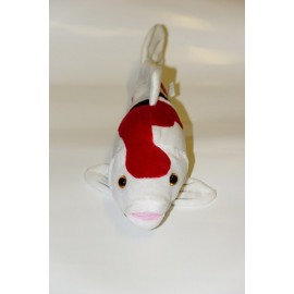 Peluche de Carpe Koï Sanké de 34 cm