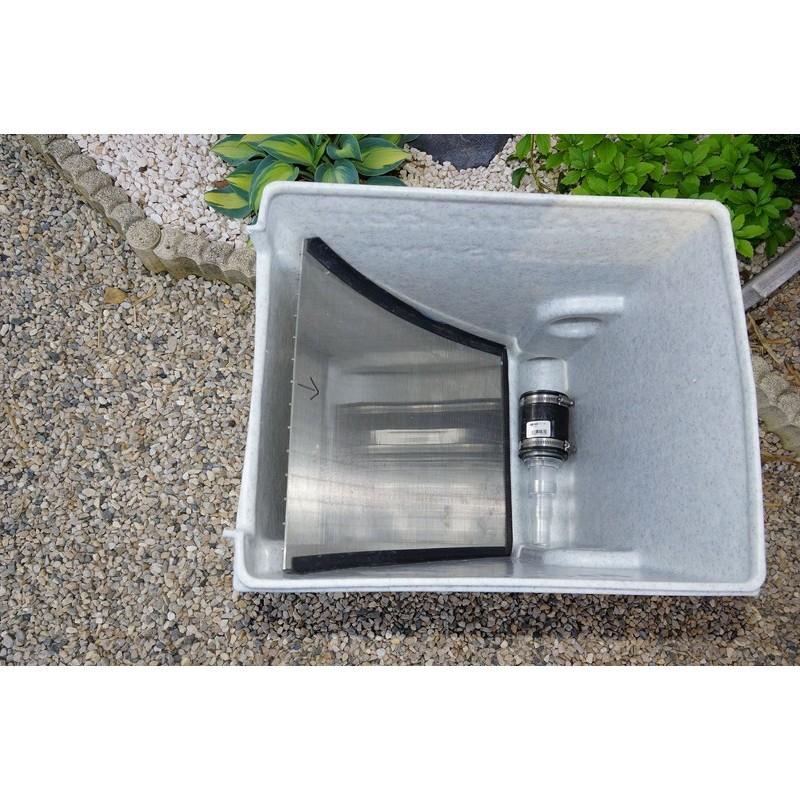 Filtre bassin grille for Filtre bassin
