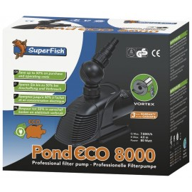 POMPE pour bassin SUPERFISH POND ECO 8000