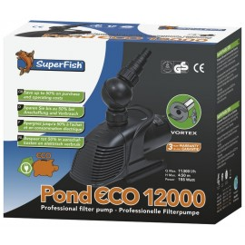 POMPE pour bassin SUPERFISH POND ECO 12000