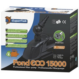 POMPE pour bassin SUPERFISH POND ECO 15000