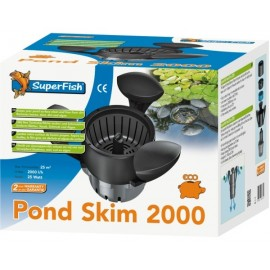 Skimmer Flottant SUPERFISH POND SKIM 2000