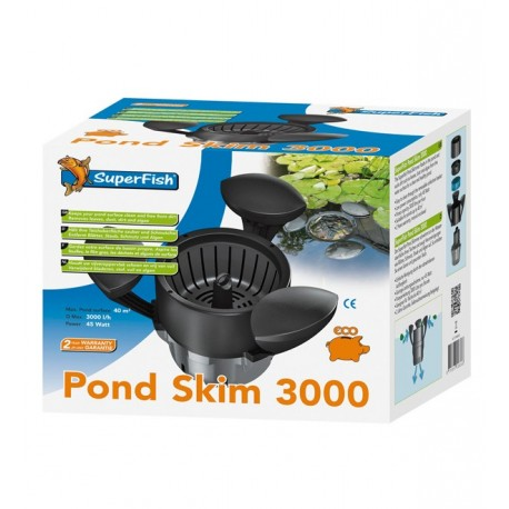 SKIMMER FLOTTANT SUPERFISH POND SKIM 3000