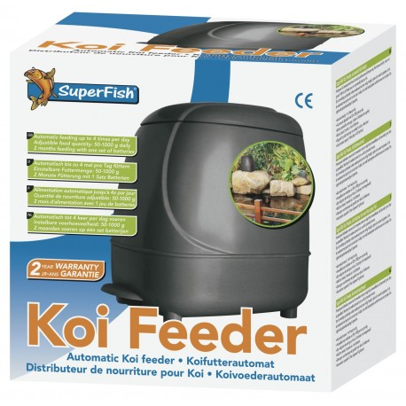 Distributeur de nourriture SUPERFISH KOI FEEDER