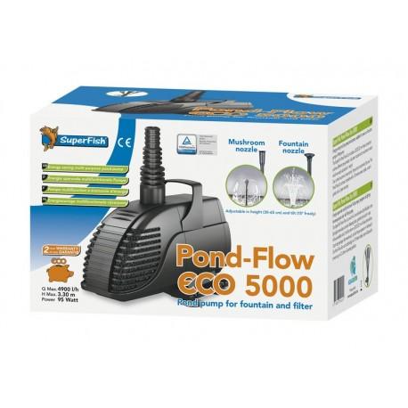SUPERFISH Pond Flow eco 5000 Pompe jet d'eau