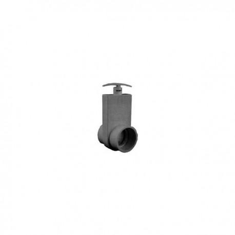 Vanne à guillotine unibody D : 63 mm