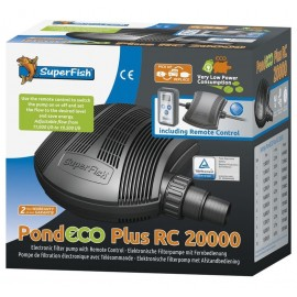 Pompe SUPERFISH avec variateur POND ECO Plus RC