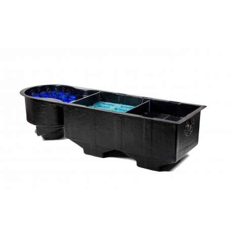 FILTRE EXCLUSIVEPOND CHRYSTAL 3 CHAMBRES POMPAGE UPFLOW + CAPOT