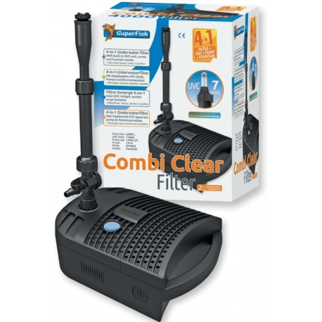 KIT FILTRATION SUPERFISH COMBI CLEAR 4000