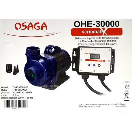 POMPE BASSIN OSAGA AVEC VARIATEUR OHE 30000 L/H