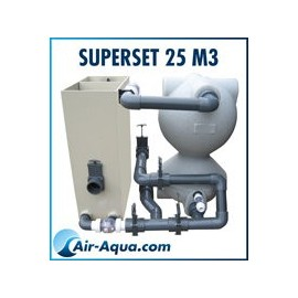 Kit SUPERSEIVE/SUPERBEAD pour bassin 20m3