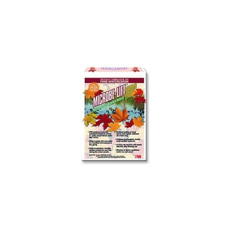 MICROBE LIFT Automne Hiver 4 LITRES + 8 SACHETS